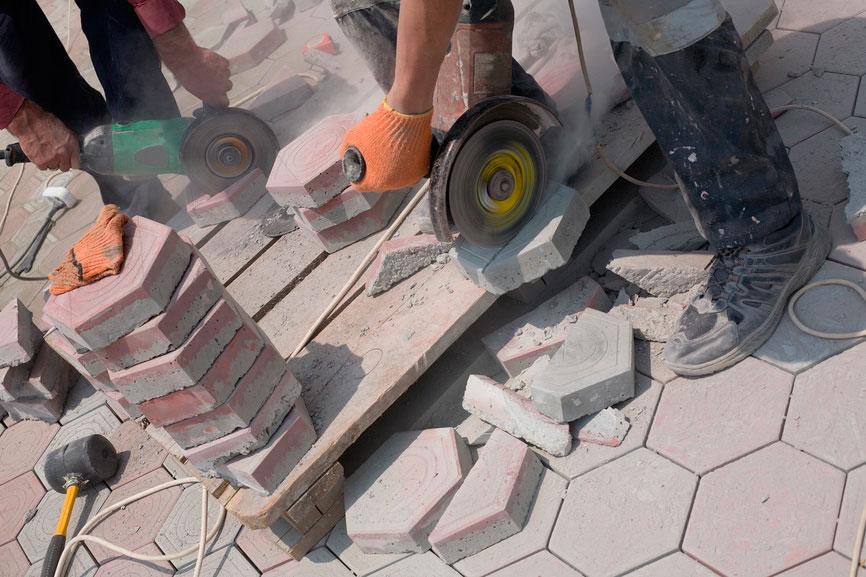 Преимущество использования тротуарной плитки