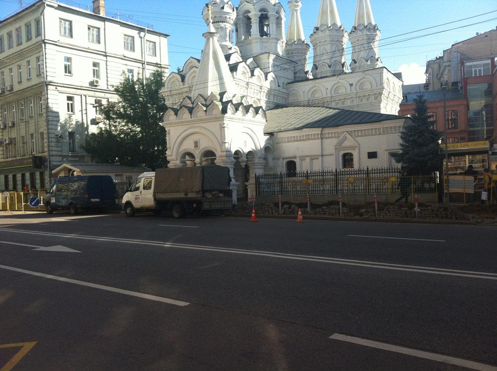 """Асфальтирование дорог в Москве компанией """"Регион Сервис"""""""